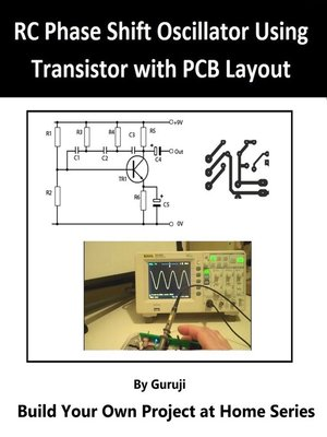 cover image of RC Phase-Shift Oscillator using Transistor with PCB Layout