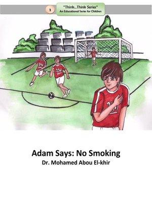 cover image of Adam Says