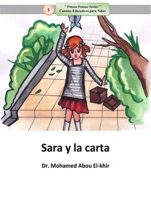cover image of Sara y la carta