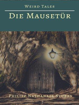 cover image of Die Mausetür