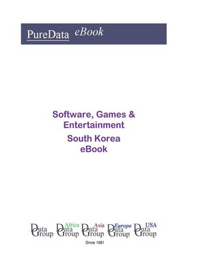 cover image of Software, Games & Entertainment in South Korea
