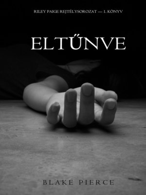 cover image of Eltűnve