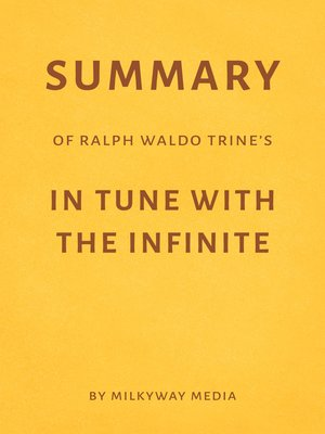 cover image of Summary of Ralph Waldo Trine's In Tune with the Infinite