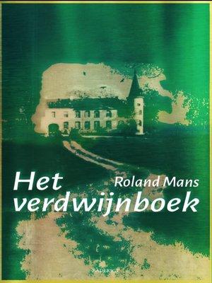 cover image of Het verdwijnboek