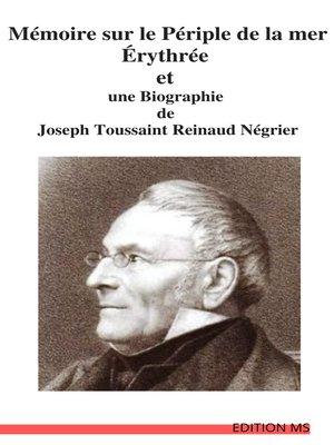 cover image of Mémoire sur le Périple de la mer Érythrée