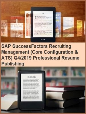 cover image of SAP SuccessFactors Recruiting Management