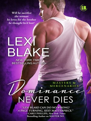 cover image of Dominance Never Dies, Masters and Mercenaries, Book 11