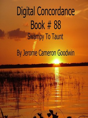cover image of Swampy to Taunt--Digital Concordance Book 88