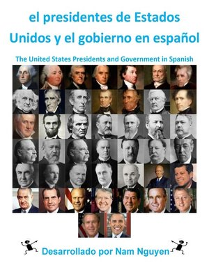 cover image of el presidentes de Estados Unidos y el gobierno en español