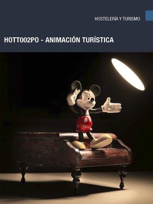 cover image of HOTT002PO--Animación turística