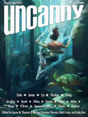 cover image of Uncanny Magazine Issue 15