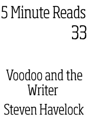cover image of Voodoo and the Writer
