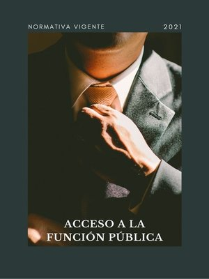 cover image of ACCESO a LA FUNCIÓN PÚBLICA