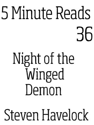 cover image of Night of the Winged Demon