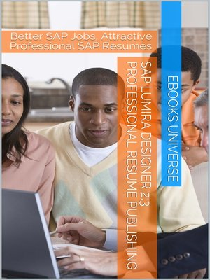 cover image of SAP Lumira Designer 2.3 Professional Resume Publishing