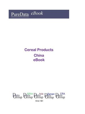 cover image of Cereal Products in China