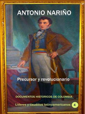 cover image of Antonio Nariño