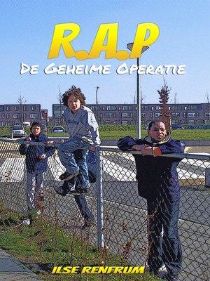 cover image of R.A.P--De Geheime Operatie