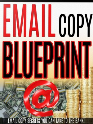 cover image of Email Copy Blueprint