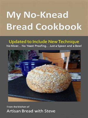 cover image of My No-Knead Bread Cookbook