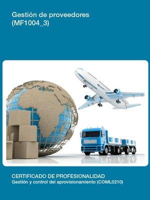 cover image of MF1004_3--Gestión de proveedores