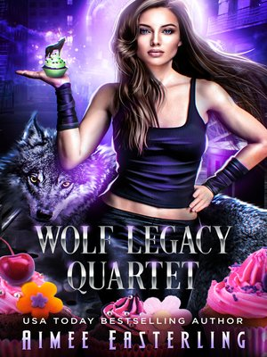cover image of Wolf Legacy Quartet