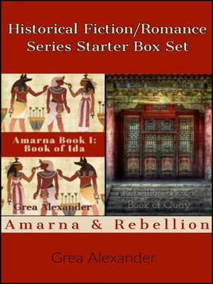 cover image of Historical Fiction/Romance Series Starter Box Set