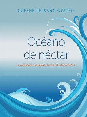 cover image of Océano de néctar