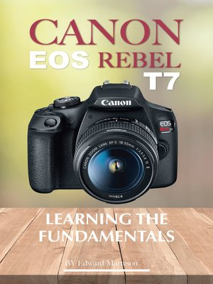 cover image of Canon EOS Rebel T7