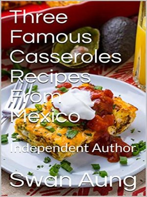 cover image of Three Famous Casseroles Recipes From Mexico