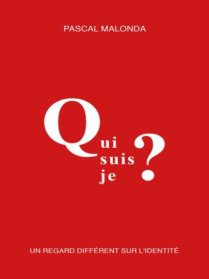 cover image of Qui suis-je ?
