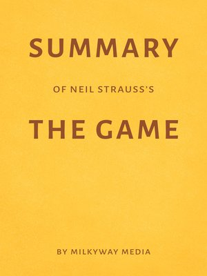 cover image of Summary of Neil Strauss's the Game