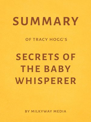 cover image of Summary of Tracy Hogg's Secrets of the Baby Whisperer