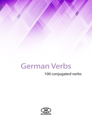 cover image of German verbs