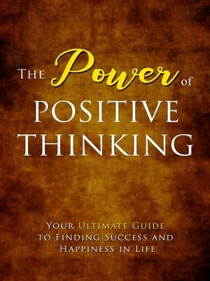 cover image of Power of Positive Thinking