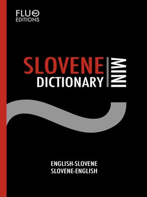 cover image of Slovene Mini Dictionary