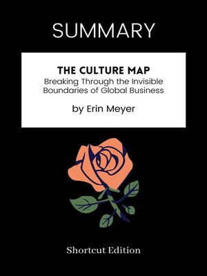 cover image of SUMMARY--The Culture Map