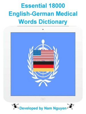 cover image of Essential 18000 English-German Medical Words Dictionary