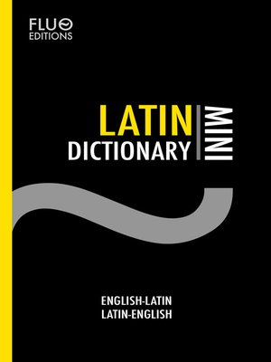 cover image of Latin Mini Dictionary