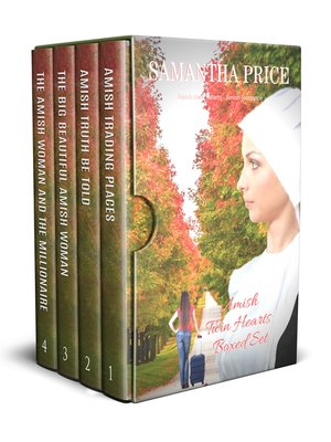 cover image of Amish Twin Hearts Boxed Set