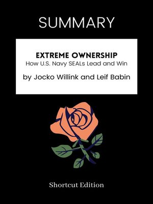 cover image of SUMMARY--Extreme Ownership