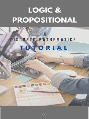 cover image of Logic & Propositional in Discrete Mathematics tutorial