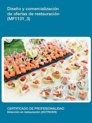 cover image of MF1101_3--Diseño y comercialización de ofertas de restauración