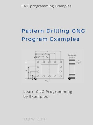 cover image of Pattern Drilling CNC Program Examples