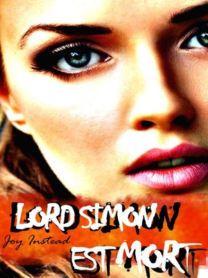 cover image of Lord Simon est mort