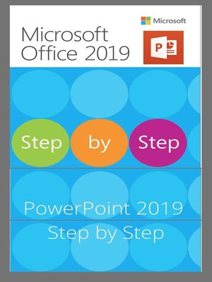 cover image of PowerPoint 2019 Step by Step