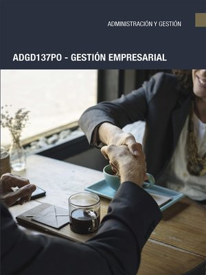 cover image of ADGD137PO--Gestión empresarial