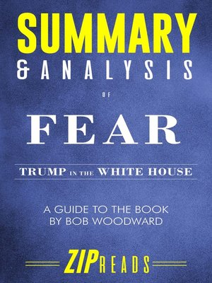 cover image of Summary & Analysis of Fear