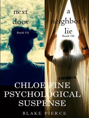 cover image of Chloe Fine Psychological Suspense Bundle