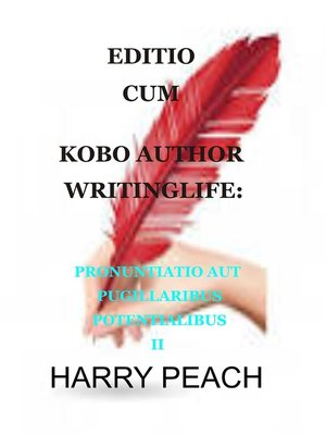 cover image of EDITIO CUM KOBO AUTHOR WRITINGLIFE